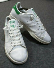 adidas Originals STAN SMITH Classic White Green Tennis Shoes - UK 6.5 EUR 40 VGC