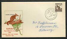 Australia 1960 6d Anteater - Sapex Fdc