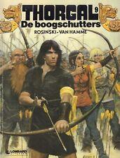 THORGAL 09 - DE BOOGSCHUTTERS - Rosinski - van Hamme