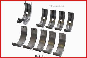 Enginetech Crankshaft Main Bearing Set BC414J.25