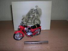 ATLAS PANNONIA 250 rouge Rouge RDA HONGRIE Moto Cyclomoteur 1:24 MOTO