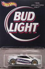 "Hot Wheels CUSTOM '17 ACURA NSX ""Bud Light"" Real Riders LTD 1/10 Made!"