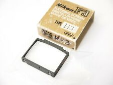 Nikon H4 Type Focusing Screen for F3 Film Cameras. Stock No u10313