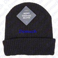 Nuevo Para Hombre Térmico Gorro Esquí Al aire libre de invierno cálido isulated Negro Sombrero Gorra Reino Unido ✔
