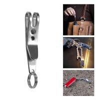 1Pc EDC Gear Pocket Suspension Clip Hanger Tool w/ Key Ring Keychain Keyfob Mini