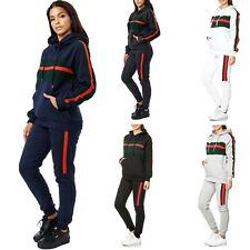 Damen Uni Jogging-Anzug | 100% Baumwolle | Sportjacke mit Hoody 9402