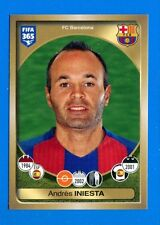 FIFA 365 2016-17 Panini 2017 Figurina-Sticker n. 70 - INIESTA -BARCELONA-New