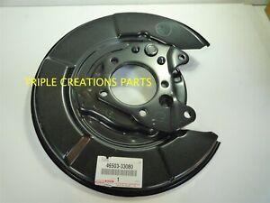 GENUINE Toyota 46503-33080 PLATE SUB-ASSY, PARKING BRAKE, RH 4650333080 OEM