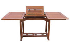 Gartentisch Cuba 120-180x90cm  Akazienholz ausziehbar NEU & OVP