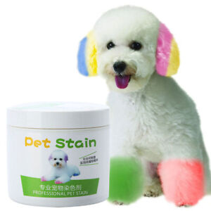 100ML PROFESSIONAL PET STAIN ANTI ALLERGIC  DOG HAIR DYE CREAM COLORING AGENT