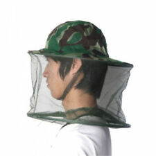 Mosquito Resistance Bug Net Mesh Head Face Hiking Protector Cap Sun Hat
