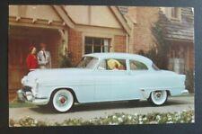 """Bill Shields Oldsmobile De Luxe """"88"""" 2-Door Ravenna Oh Advertising Postcard"""