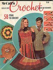 McCall's Crochet Magazine 1970 VG 050117nonjhe