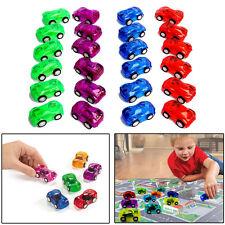 "Pull Back Mini Race Cars 24 Pcs Translucent Pull Back Let Go 2"" Racing Toy Cars"