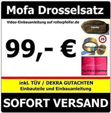 Mofadrossel Aprilia SR50 Typ: RLA Drosselsatz inkl. Tüv-Gutachten