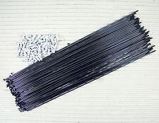 72 STÜCK SPEICHEN DT SWISS COMPETITION BLACK 264 MM 2,0 1,8 2,0 DD + ALU NIPPEL