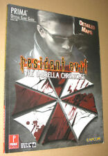 Resident evil The Umbrella Chronicles Prima Strategy Game Guide