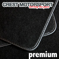 RENAULT PREMIUM PREMIUM Tailored Black Car Floor Mats