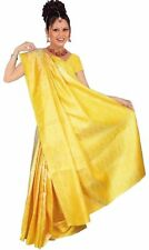 Jaune Bollywood Carnaval Sari Est De L'inde CA120