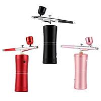 USB 0.4mm Action Airbrush Kit Spray Gun Air Brush Compressor Makeup Paint Tool