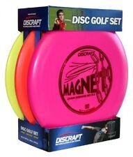 Discraft Beginner Disc Golf Set, 3-Pack, Driver Mid-Range Putter, PDGA Approved