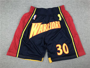 Golden State Warriors Black Championship Commemorative Basketball Shorts