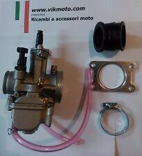Carburatore 24 PWK Polini + collettore girevole Minarelli AM6 AM5 HM CRE 50 Six