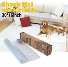 Electronic Pet Training Dog Cat Barrier Repellent Shock Scat Mat Pad 30x16inch