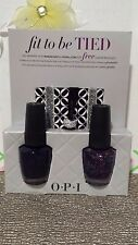 OPI Fit to be Tied Gift Set with Russian Navy & Polka.com + Hair Tie Bracelets