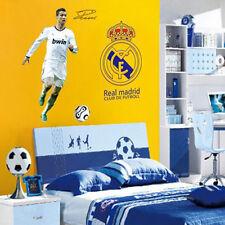 Cristiano C Ronaldo Real Madrid Wall Stickers football Wall Decor CR7 Vinyl