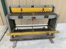 52 Inch Enco Foot Stomp Sheet Metal Shear 16 Gage Capacity Mild Steel