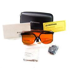Uvex LOTG-YAG/KTP OTG Uncoated Laser Safety Glasses Brown Lenses USA
