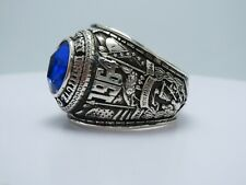 @ SILVER 925 ring , THe Virginia Military  Institute RING , 1964 , US SIZE 14.25