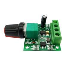 DC1.8V 3V 5V 6V 12V 2A PWM DC Motor Speed Controller Regulator Switch LED Dimmer