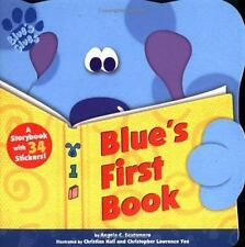 Blue's Clues: Blue's First Book by Angela C. Santomero (1999, Paperback)