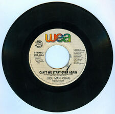 Philippines JOSE MARI CHAN Can't We Start Over Again OPM 45 rpm Record