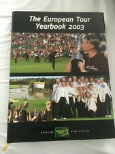 The European Tour Official Golf Yearbook 2003