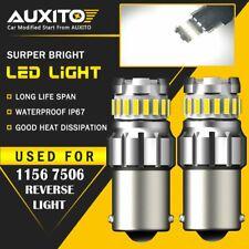2X AUXITO BA15S 1156 P21W 7506  Reverse Back Up Light White LED Bulb 23SMD EA
