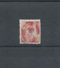 "INDIA Portugal MNH NG 20 Reis stamp thick paper Native Issue bâtonné ""avergoado"""