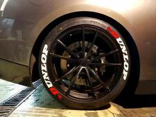 "Permanent Tire Lettering Stickers Dunlop  16''17''18'19''20""21"" (8 KİT)"