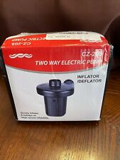 Two Way Electric Air Pump Cz-208 Open Box Damaged