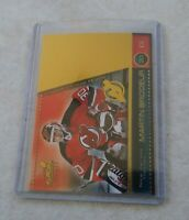 2000-01 Pacific Aurora Pinstripes Martin Brodeur #81 New Jersey Devils Hockey