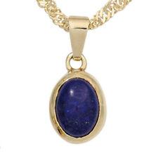 Unbehandelte Echtschmuck-Halsketten & -Anhänger mit Lapis Lazuli-für Damen