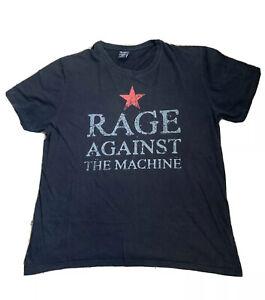 Men's RATM Rage Against the Machine Black Licensed Band Tee Shirt - Size XXXL