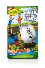 CRAYOLA Washable SIDEWALK CHALK Grab N Go Games CHIP SHOT GOLF Bean Bag+Sticks