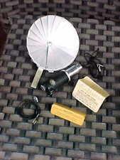 Vintage Ernst LEITZ WETZLAR FAN FLASH UNIT came w/ Leica IIIf camera NICE