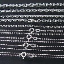 Silberkette Ankerkette 925 Sterling Silber massiv Kette Armkette Niklarson VE7