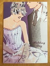"'To A Special Couple' Wedding Day Card - 6.75""x4.75"" - Glitter"
