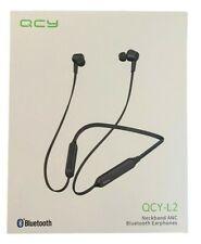 QCY-L2, Neckband ANC, Bluetooth V5.0 Earphones Kopfhörer, black, Blister