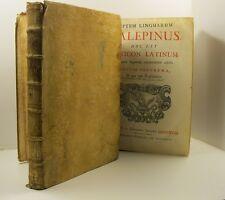 CALEPIO Ambrogio, Septem linguarum calepinus hoc est lexicon latinum